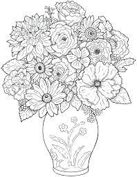 Full Image For Free Flower Coloring Sheets Printable Pages Adults