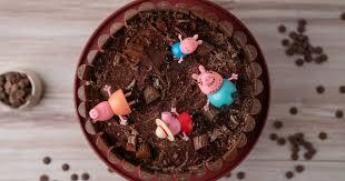 Kuchen Mit Flã Ssigem Kern Peppa Wutz Matschepfützekuchen Schokoladen Torte Mit Ela