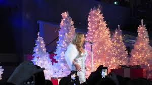 Nbc Christmas Tree Lighting 2014 Mariah Carey by Mariah Carey