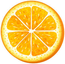 Orange Slice PNG Clip Art Transparent Image