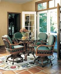Dining Room Sets With Rolling Chairs Trendy Rolling Dining Room