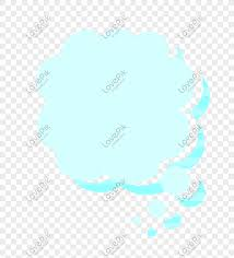100 Flat Cloud Vector Cartoon Flat Cloud Blue Border Png Image_picture Free