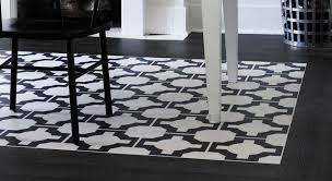 Make A Statement With Color And Pattern For Beautiful Dining Room Flooring