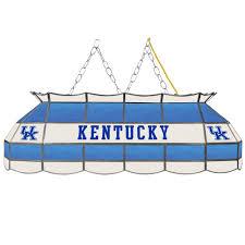 Home Depot Tiffany Lamp by Trademark Global University Of Kentucky 3 Light Blue Hanging