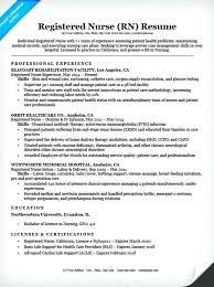 Dialysis Nurse Resume Registered Sample