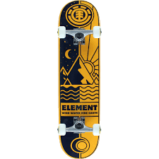element skateboards nyjah huston rise and shine complete