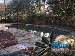 97 Glenbrook Village Bethesda Maryland Gunite Swimming Pool Removed Completely