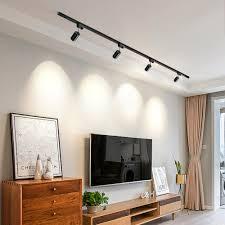 hartisan led track licht flecken wohnzimmer schlafzimmer decke le gu10 5w 220v spot lichter aluminium einstellbare küche beleuchtung