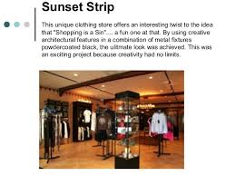26 Sunset Strip This Unique Clothing Store