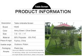 Mosquito Netting For 11 Patio Umbrella by 11 U0027 Olive Green Patio Umbrella Mosquito Netting Buy Patio
