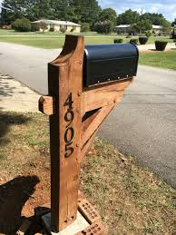 100 Letterbox Design Ideas Timber Framed Mailbox Post Front Porch