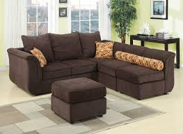 Chocolate Corduroy Sectional Sofa by New Ideas Chocolate Brown Sectional Sofa With Details About