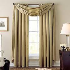 Jcpenney Silver Curtain Rods by Cindy Crawford Style Aria Curtain Panel Jcpenney Casa