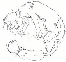 To Print Warrior Cats Coloring Pages 15 On For Adults With