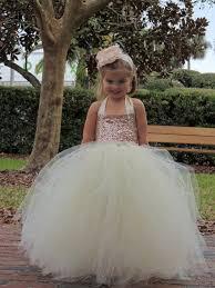 Light Pink Sequin Tutu Dress Sequin Flower Girl Dress Metallic