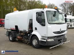 RENAULT Midlum 240 Dxi Refuse Truck / Street Sweeper RHD Road ...