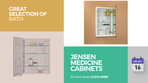 Jensen Medicine Cabinets Recessed by Jensen Medicine Cabinets Collection Great Selection Of Bath