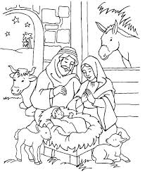 Full Image For Matthew 6 25 34 Coloring Page Jesus Is Born