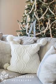 Tj Maxx Christmas Throw Pillows by Seasons Of Home Christmas Living Room Miss Mustard Seed