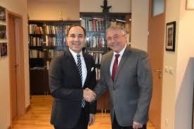 100 Tanju Visit Of Bilgi PhD Ambassador Of The Republic Of Turkey