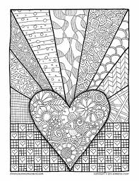 Valentines Coloring Page For Adults And Grown Ups Printable Pages Are Great Stress Relief Coping With Pain