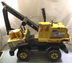 100 Steel Tonka Trucks Rare Vintage Pressed Crane Shovel Earth Mover Truck With