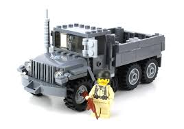 100 Bricks Truck Sales US Army M35 Made With Real LEGO