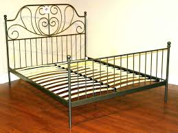 Wrought Iron King Headboard by Beds Black Wrought Iron Bedside Lamps Beds King Tables Wroght
