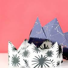 How To Make Origami Paper Crowns