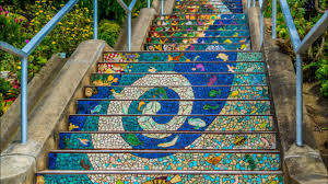 16th Ave Tiled Steps Project by Moraga Mosaic Steps Youtube