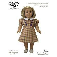 Shirley Dress PDF Pattern For American Girl By Bunnybearpatterns