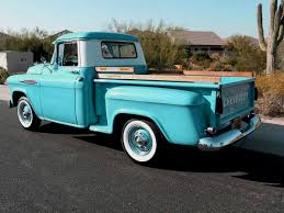 100 55 Chevy Trucks For Sale 1957 Pickup Truck Old Truck Accessories And