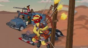 Best Halloween Episodes by Twisted Metal Shows Up In The Simpsons U0027 600th Episode Allgames