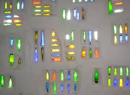 Glass Bottle Wall