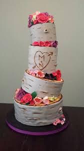 Birchwood Cake Weddingcake Rustic Wedding CakesCustom CakeDurham TorontoCakes