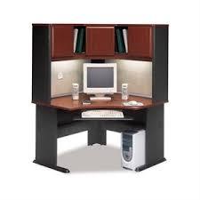 Cymax Desk With Hutch by Keyboard Tray Computer Desks Cymax Stores