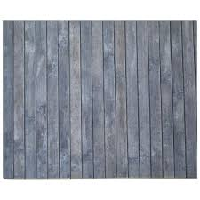 bambus teppich 70x140 grau