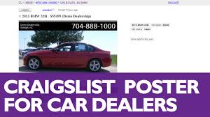 How To Post Cars To Craigslist With DSMC 2014 Marketing Software ... Craigslist Raleigh Slot Cars Nc Slots Togo Cars For Sale In Raleigh Nc Leithcarscom Mira Auto Sales Used Dealer 20 New Photo Craigslist Charlotte Nc And Trucks By Owner Food For Are Halls The Truck Driving Jobs Phoenix Az Fniture Best Image Middlebuartsorg Knox Inc Local In Synergyhealth
