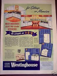 30s Kitchen Decor Planning Westinghouse 1938