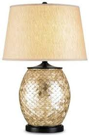 Destinations By Regina Andrew Lamps by Regina Andrew Scalloped Capiz Column Lamp Regina Andrew Glamorous