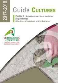chambre agriculture bourgogne calaméo 2017 2018 guide cultures printemps vf