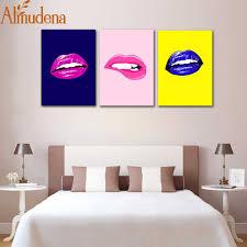 100 Sexy Living Rooms ALMUDENA Nordic Minimalist Room Triple Lips