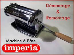démontage machine à pâte imperia veesuel
