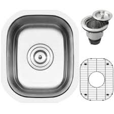 Undermount Bar Sink Black by Stainless Steel 16 Inch Undermount Bar Sink Free Shipping Today
