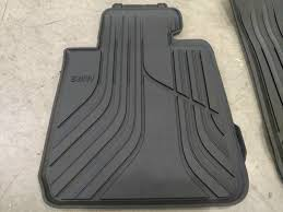 Bmw Floor Mats 2 Series by Bmw 3 Series F30 Rubber All Weather Floor Mats Front U0026 Rear Black