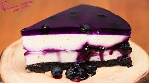 How to make Huckleberry Blueberry Cheesecake