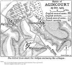 the siege of harfleur the battle of agincourt october 25 1415 hundred years war