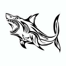 Hammerhead Shark Pumpkin Stencil by Great White Shark Tribal Vinyl Car Sticker Cars Shark And Tattoo