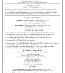 Resume Example Free Download Word Exceptional Teaching Template Templates Australia Nsw Government