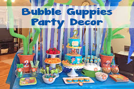 Bubble Guppies Bathroom Decor by Ideas Decorations And Create Special Birthday With Bubble Guppies